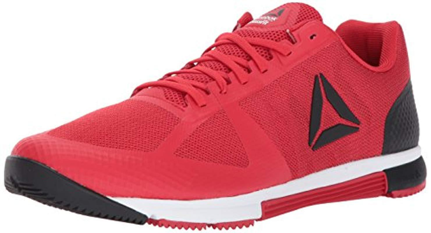 3377f456eb6 Lyst - Reebok Crossfit Speed Tr 2.0 Cross-trainer Shoe in Red for ...