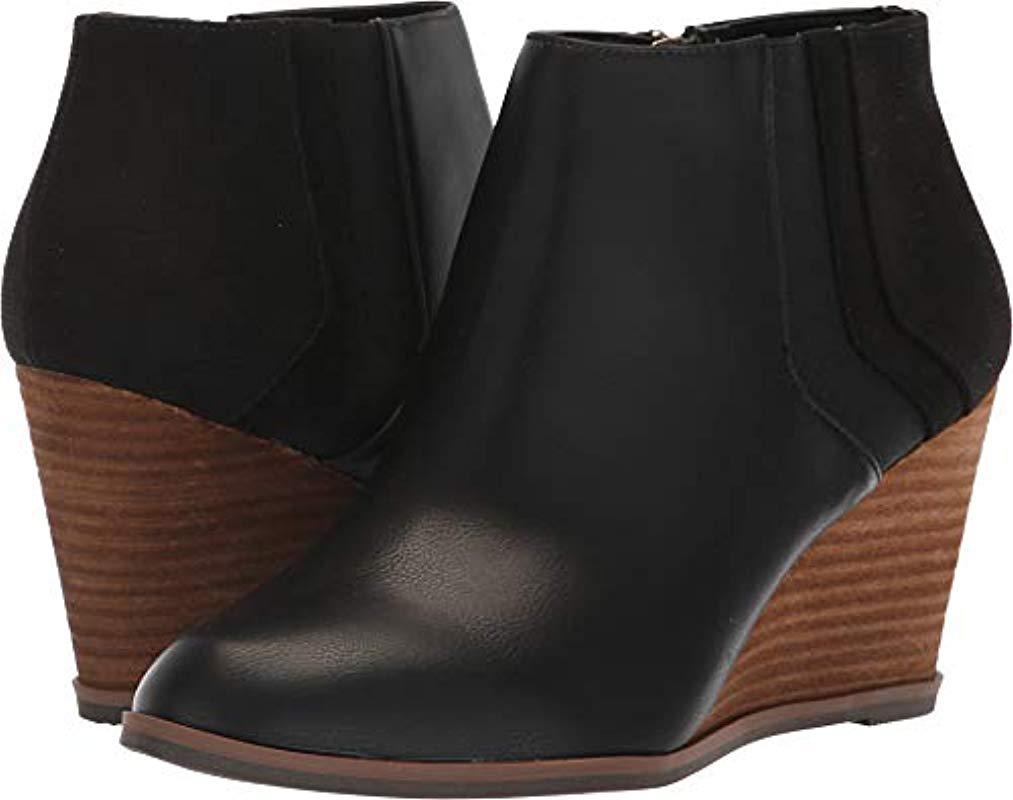 46d5905a89e Lyst - Dr. Scholls Patch Booties in Black - Save 48%