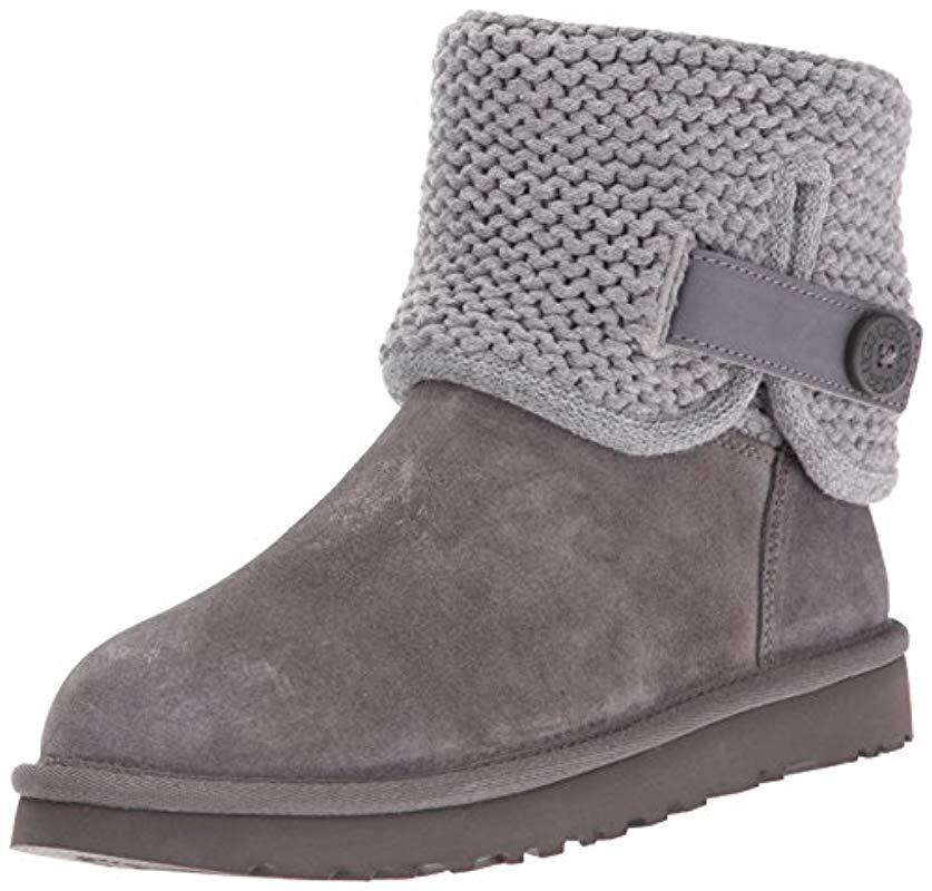 0a10faeca4c Lyst - UGG Shaina Boot in Gray