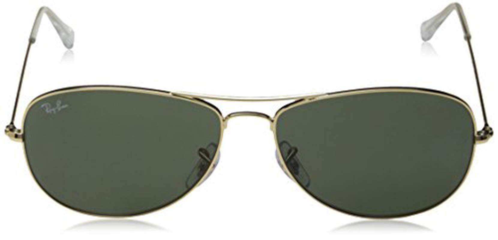 bff475e1706 ... coupon code for ray ban green rb3362 cockpit sunglasses for men lyst.  view fullscreen a4824