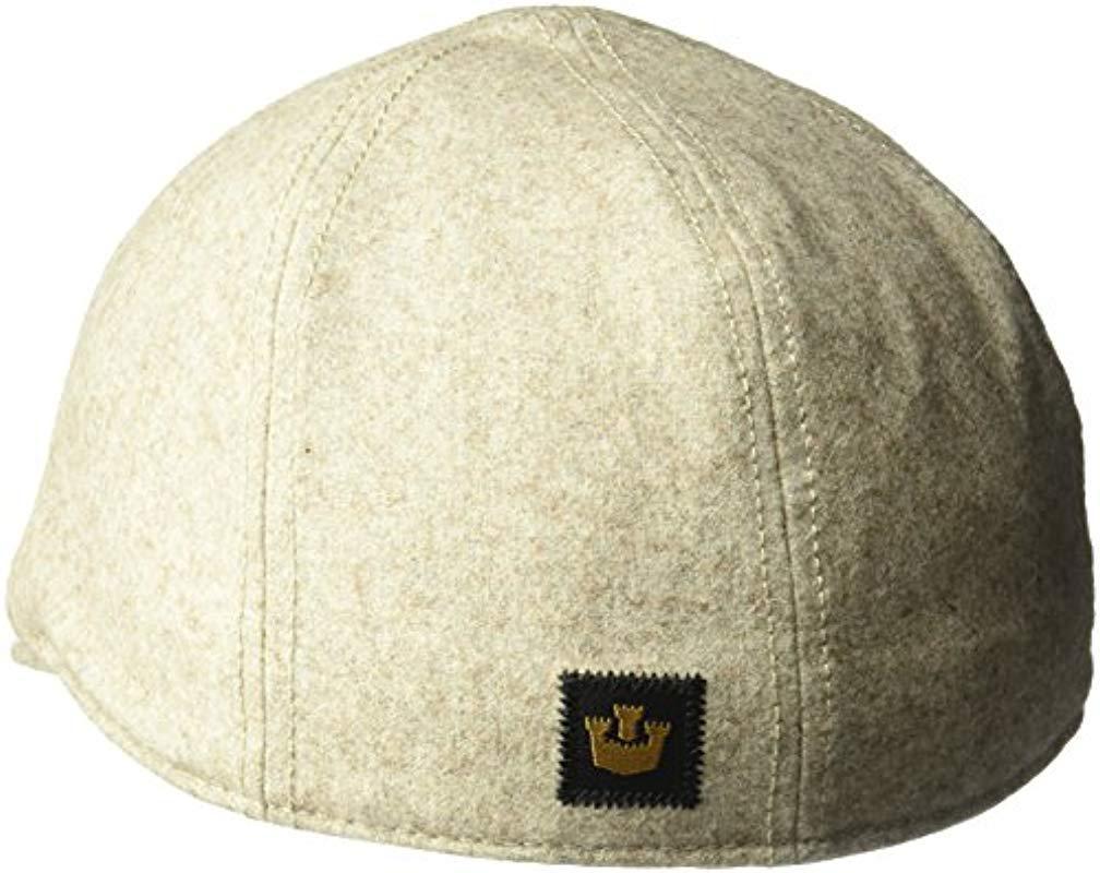 Goorin Bros - Natural Andy Hamill Wool Ivy Newsboy Hat for Men - Lyst. View  fullscreen 088d4b0f408e