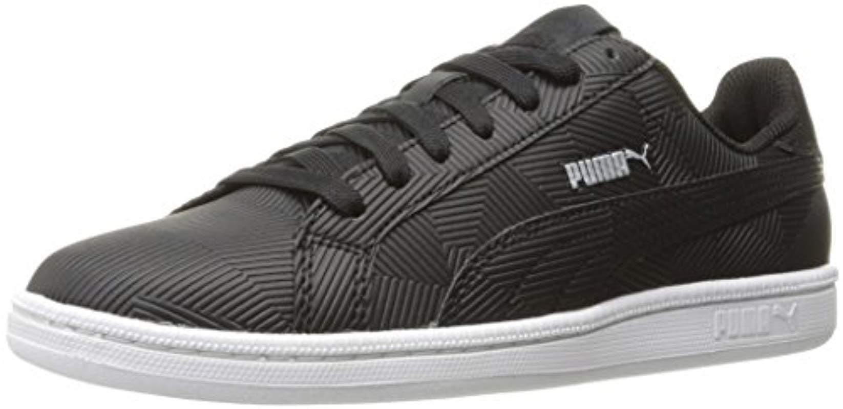 769dd67f010048 Lyst - PUMA Smash Deboss Fashion Sneaker in Black for Men - Save 39%