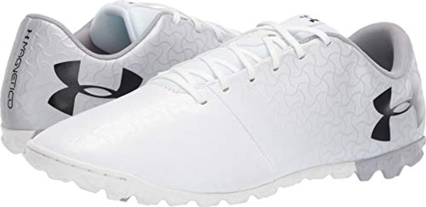 84bdce93f Lyst - Under Armour Magnetico Select Turf Soccer Shoe in Metallic ...