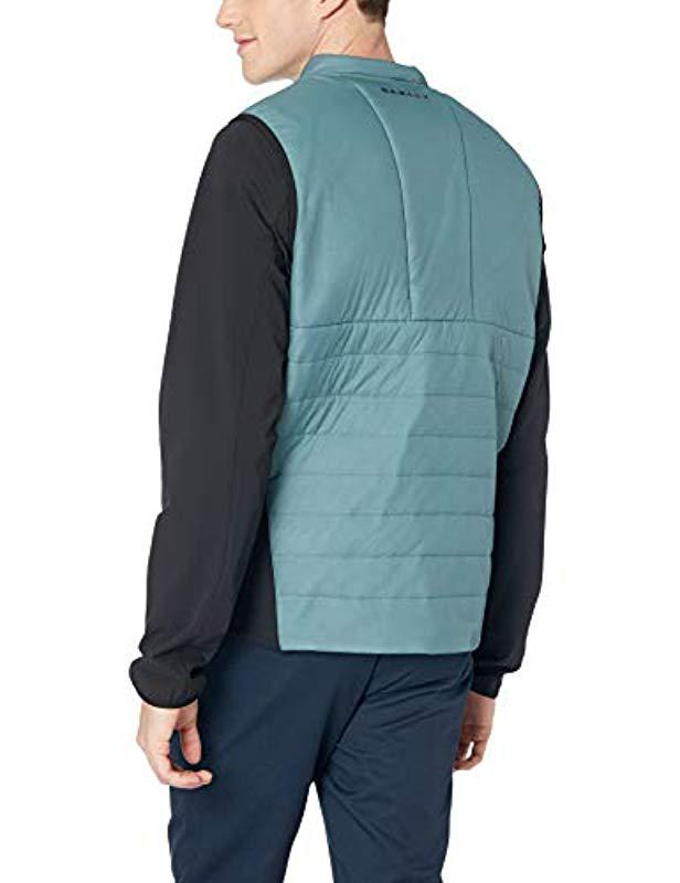 a7efa893ad8 Lyst - Oakley Engineered Light Insulated Jacket in Blue for Men