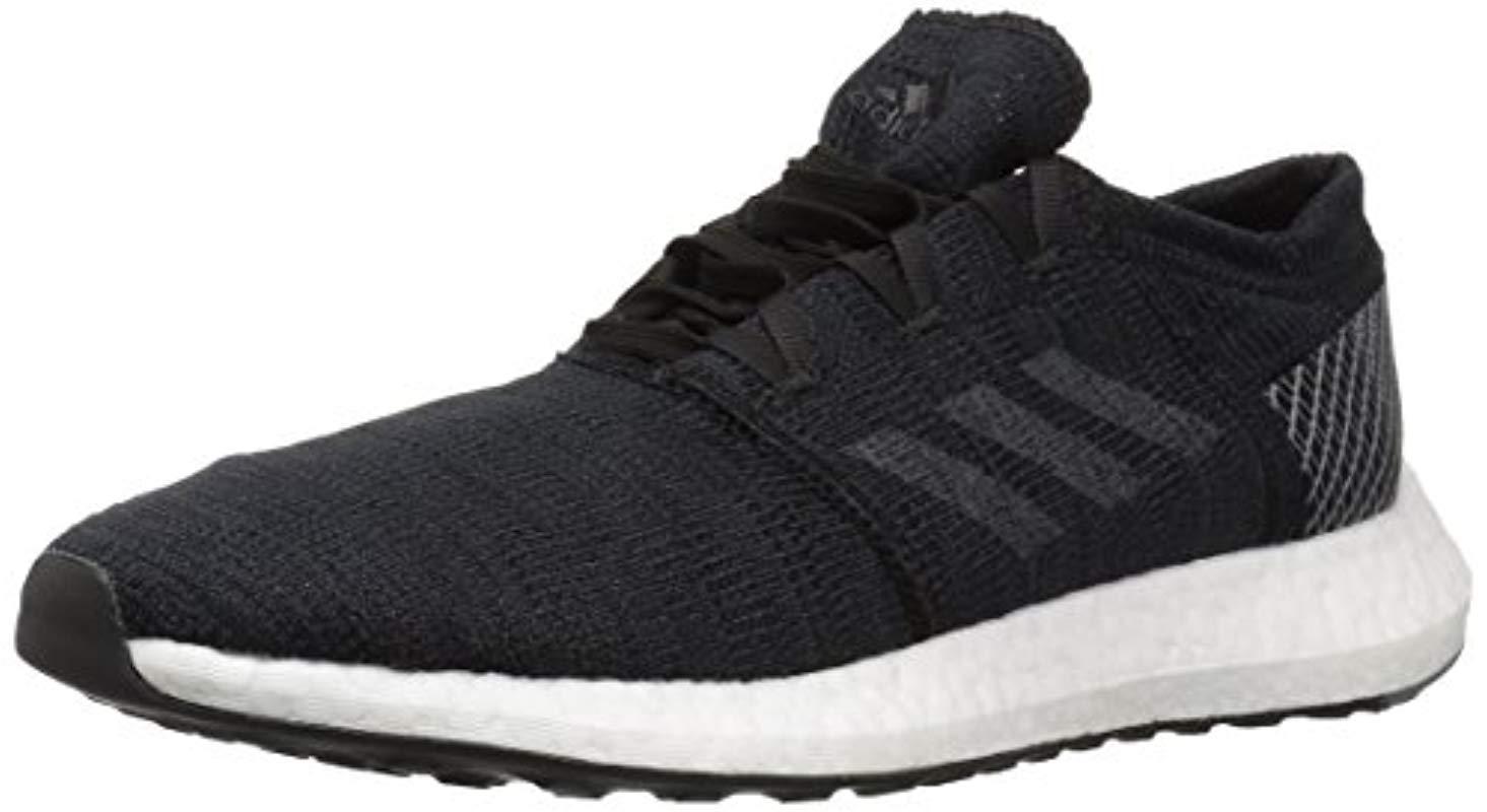 Lyst - adidas Originals Pureboost Go Running Shoe in Gray 63cef6322