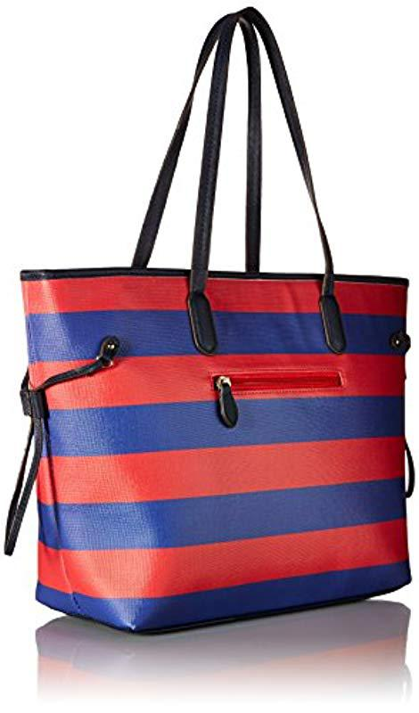 841c03e3597 Lyst - U.S. POLO ASSN. Us Polo Association Evelyn Tote in Red