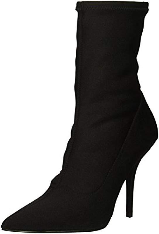 8ef385b670f Lyst - Calvin Klein Mada Ankle Boot in Black