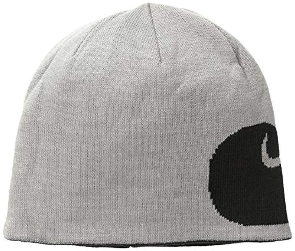 b5ce1196ea0 Carhartt - Black Greenfield Reversible Hat for Men - Lyst. View fullscreen
