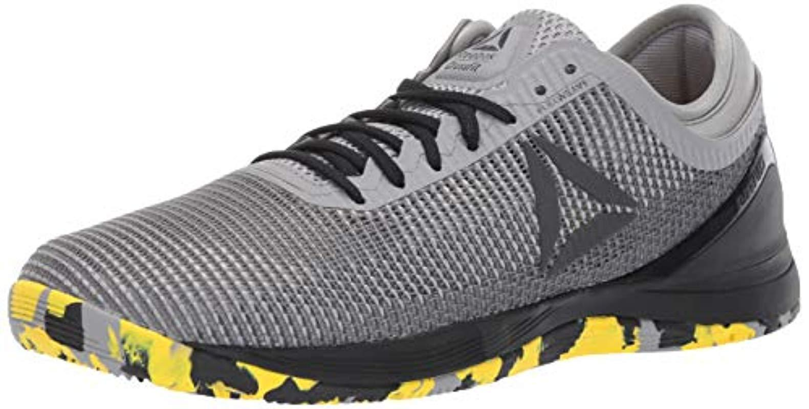 4d57fd0bf18 Lyst - Reebok Crossfit Nano 8.0 Flexweave Cross Trainer Shoe in Gray ...