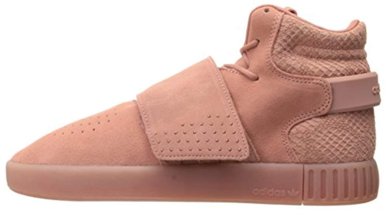 pretty nice f5073 52d7d Lyst - adidas Originals Tubular Invader Strap W Fashion Sneaker in Pink -  Save 56%