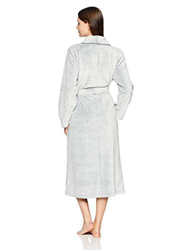 Lyst - Arabella Frosted Plush Robe With Blanket Stitch - Save  58.8235294117647% 8c2556ff5