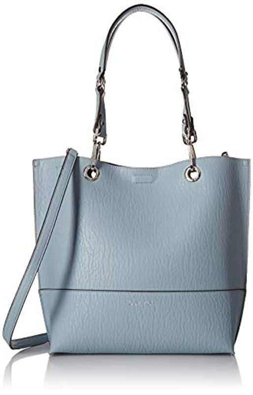 a6f2b83c6 Calvin Klein. Women's Blue Sonoma Reversible Novelty North/south Tote