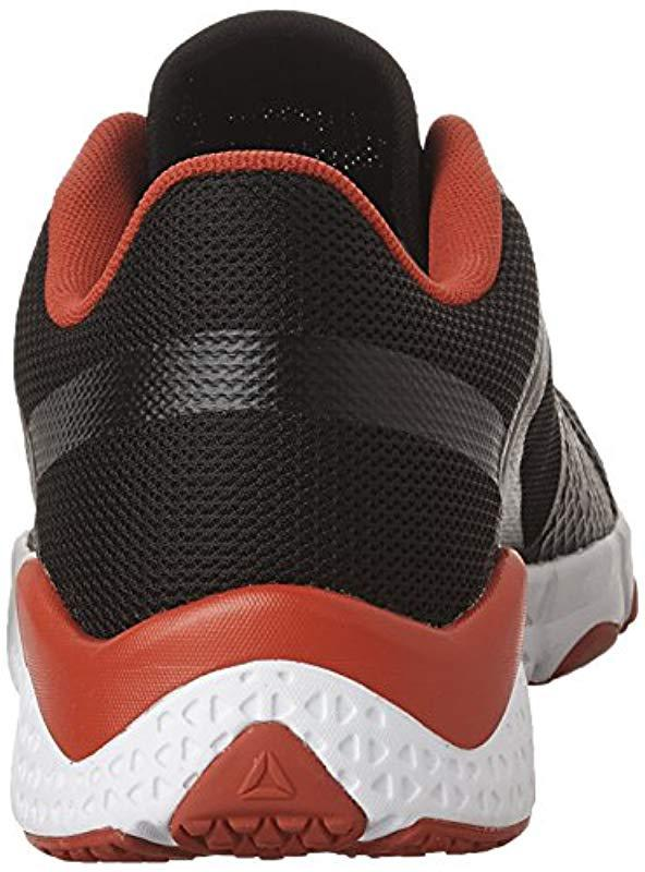 0bd4e7ec92eb Reebok - Black Trainflex Cross-trainer Shoe for Men - Lyst. View fullscreen