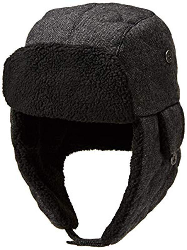 Lyst - Dockers Winter Warm Trapper Hat in Gray for Men 83c5c2904ecc