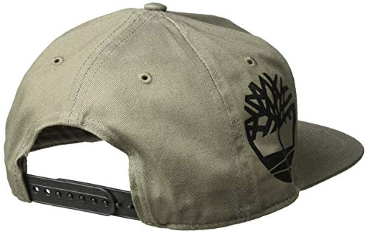 2c728284c9c Timberland - Green Cotton Twill Baseball Cap