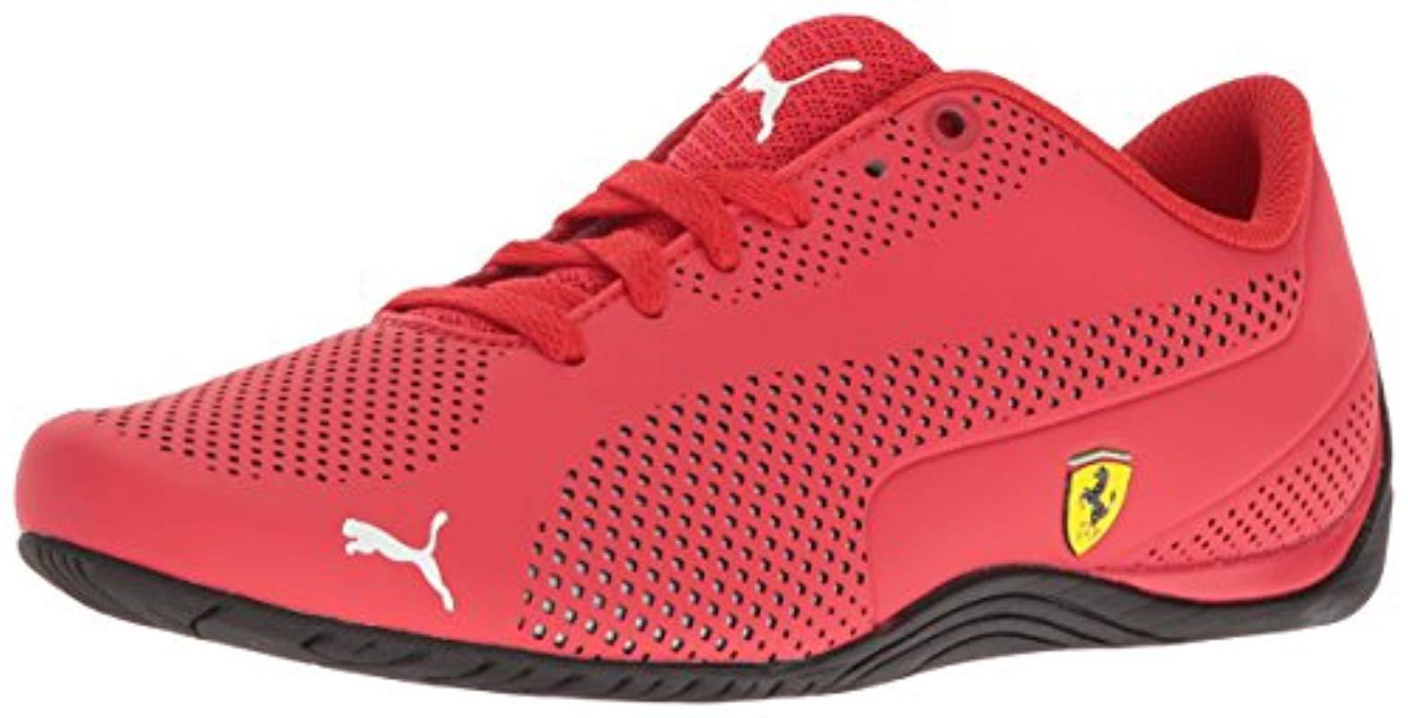Lyst - PUMA Ferrari Drift Cat 5 Ultra Sneaker in Red for Men - Save 20% 9eced639b