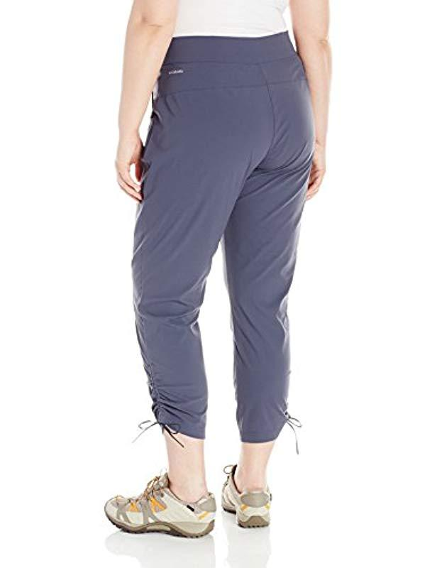 899f59b1d79 Lyst - Columbia Plus Size Anytime Casual Ankle Pant in Blue - Save 2%