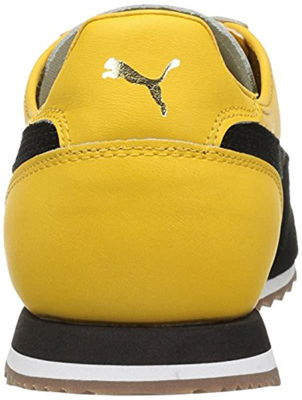 127f93c89e73 Lyst - PUMA Roma Og 80s Fashion Sneaker in Yellow for Men - Save 28%