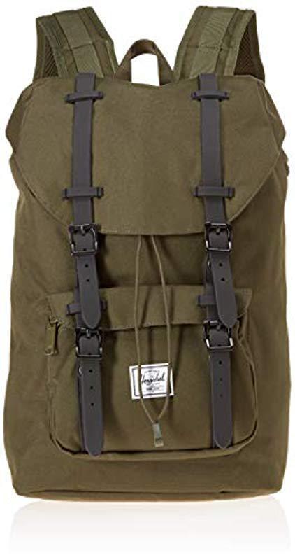 570e2661fcc Lyst - Herschel Supply Co. Little America Mid-volume Backpack in ...