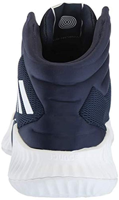 0cc44789772 Adidas Originals - Blue Pro Bounce 2018 Basketball Shoe for Men - Lyst.  View fullscreen