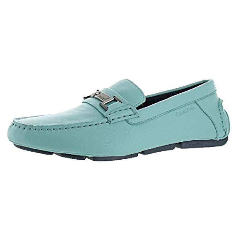 066477fc076 Lyst - Calvin Klein Magnus Slip-on Loafer in Blue for Men