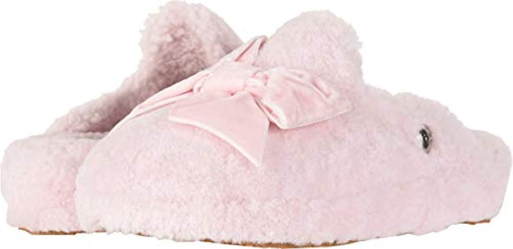 e0048277a2e Ugg Pink W Addison Velvet Bow Slipper