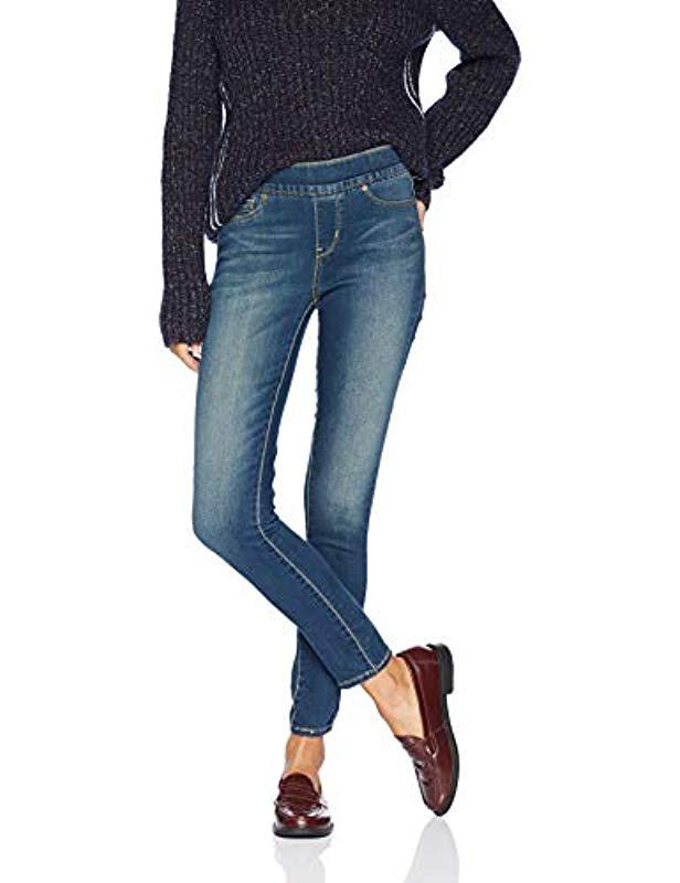 6e1e38dc02905 Signature by Levi Strauss   Co. Gold Label. Women s Blue Totally Shaping  Pull-on Skinny Jean