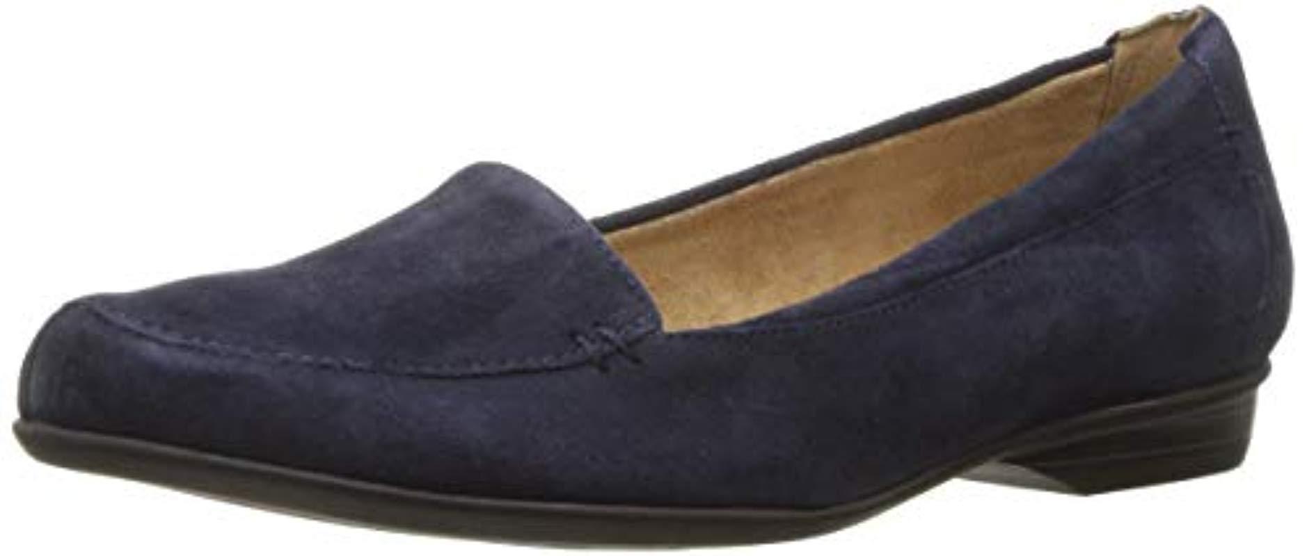 2e18042ba03 Naturalizer. Women s Blue Saban Loafer ...