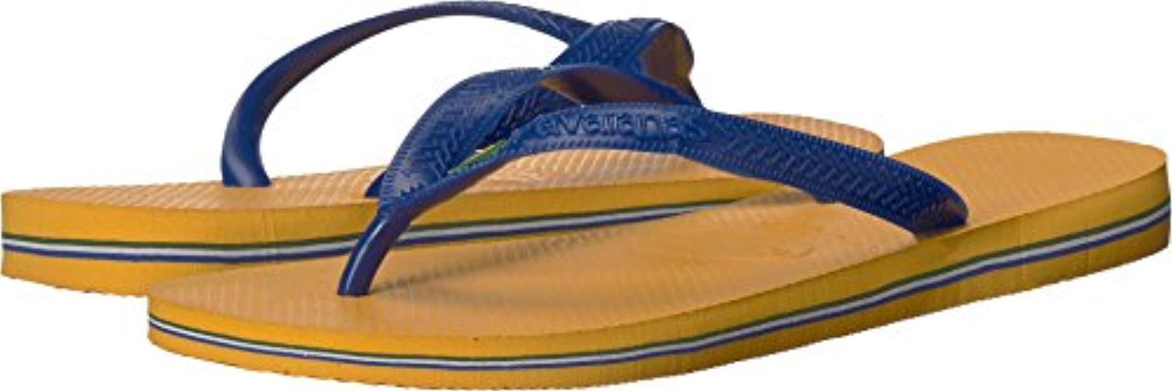 c00ce9c99 Havaianas. Men s Brazil Flip Flop Sandals ...