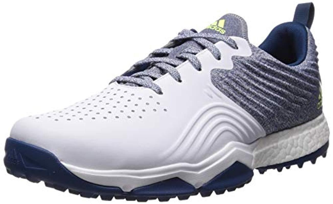 6239f9dce98 Adidas - White Adipower 4orged S Golf Shoe for Men - Lyst. View fullscreen