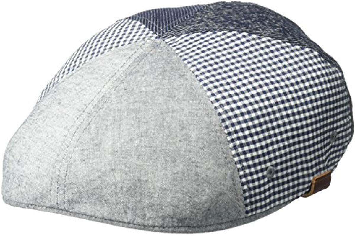 12b0c216 Lyst - Kangol Pattern Flexfit 504 Ivy Cap in Blue for Men - Save 16%