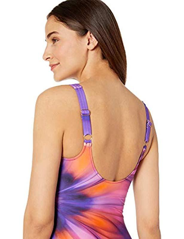 79a5a7595e Gottex Mastectomy High Neck One Piece Swimsuit in Purple - Save 27% - Lyst