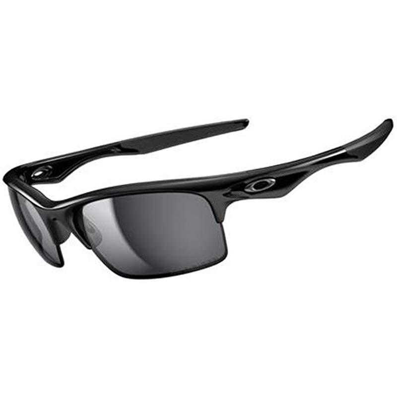 913c8be2f4 Oakley. Black Mens Bottle Rocket Oo9164-14 Polarized Sport Sunglasses