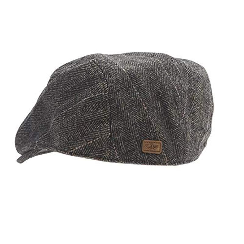 eecf6332f21 Dockers - Brown Ivy Newsboy Hat for Men - Lyst. View fullscreen