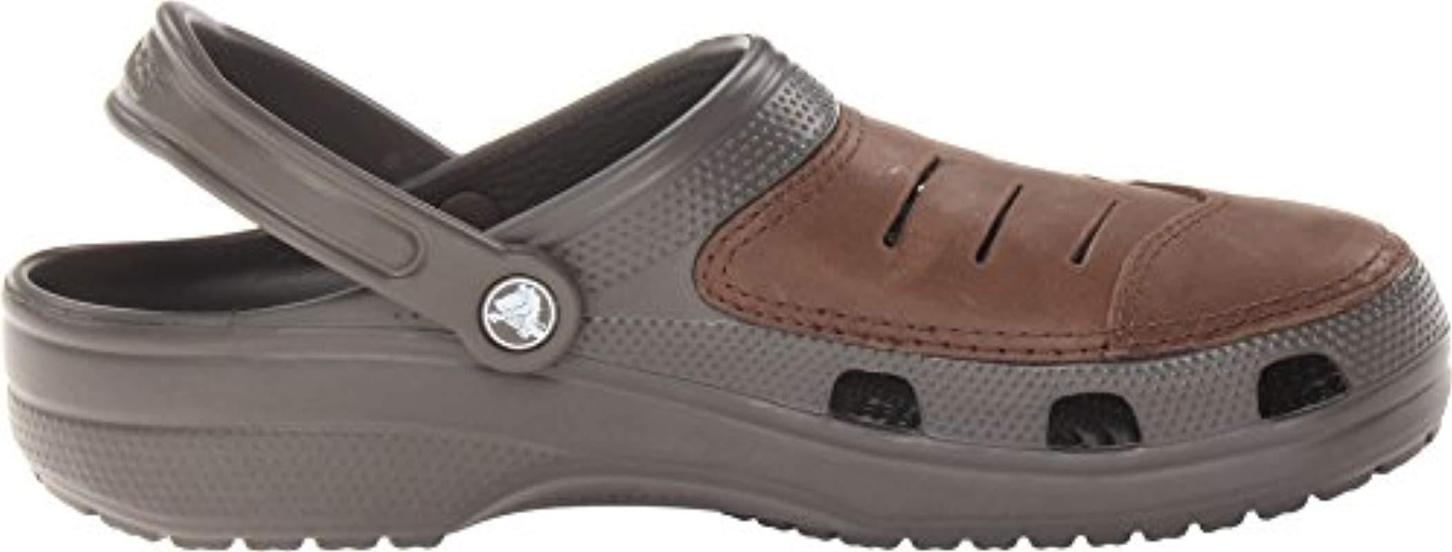 275348387805d Crocs™ - Brown Bogota Clog for Men - Lyst. View fullscreen