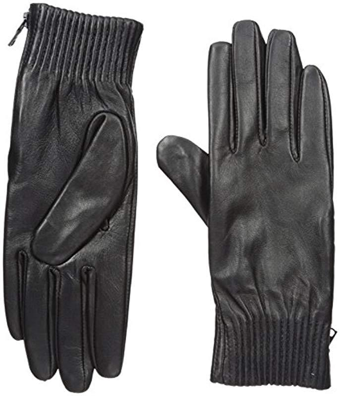 51c53f0a0 Lyst - Lacoste Gloves in Black