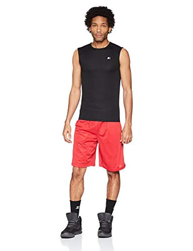 9fc670b5 Lyst - Starter Sleeveless Muscle Tech T-shirt, Amazon Exclusive in Black  for Men