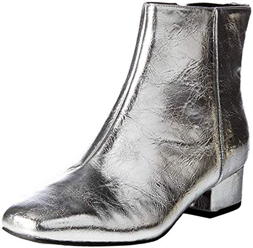 bf998e01a0a79 Lyst - Circus by Sam Edelman Lyndsey Fashion Boot in Metallic - Save 80%