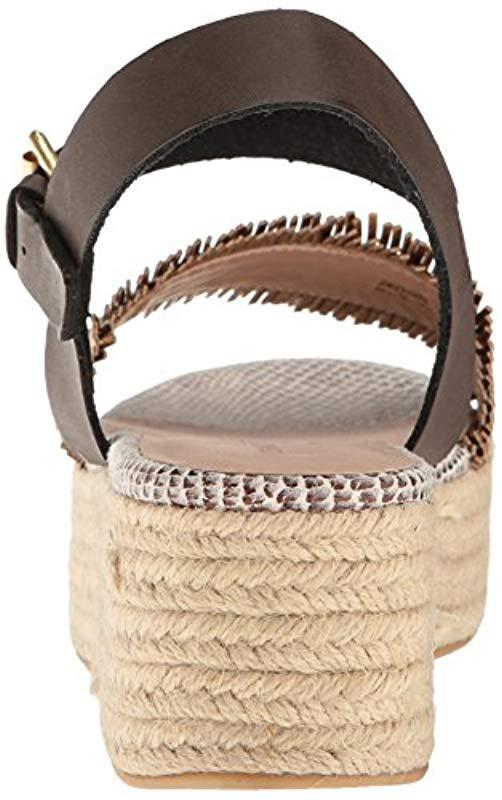 7e4cb6bd7bc Chinese Laundry - Brown Ziba Espadrille Wedge Sandal - Lyst. View fullscreen