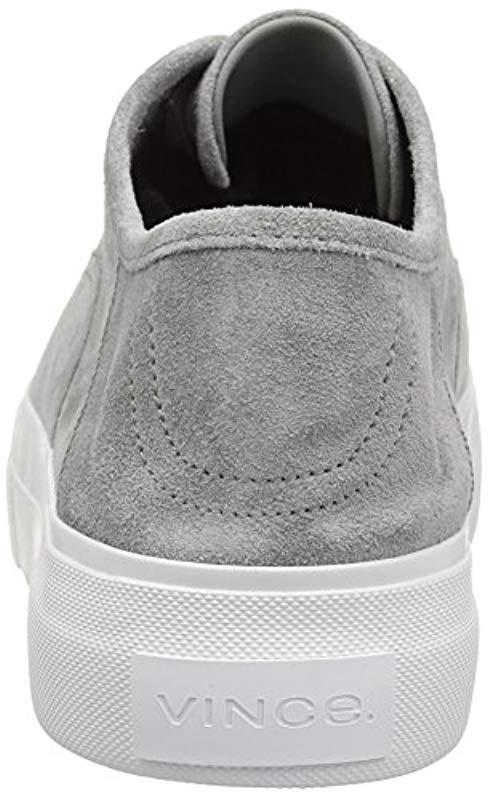 711416c93e8 Vince - Gray Copley Sneaker - Lyst. View fullscreen