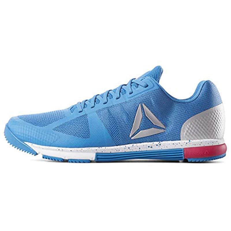73a47f9242a6 Reebok - Blue Crossfit Speed Tr 2.0 Cross-trainer Shoe for Men - Lyst. View  fullscreen