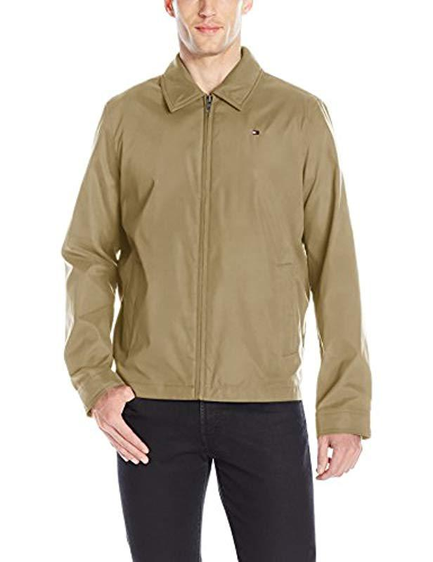 41e86e40 Lyst - Tommy Hilfiger Lightweight Microtwill Golf Jacket for Men - Save 10%