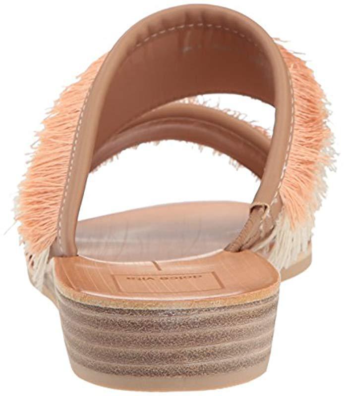 9c2bb68dd3e808 Lyst - Dolce Vita Haya Slide Sandal in Natural - Save 30.0%
