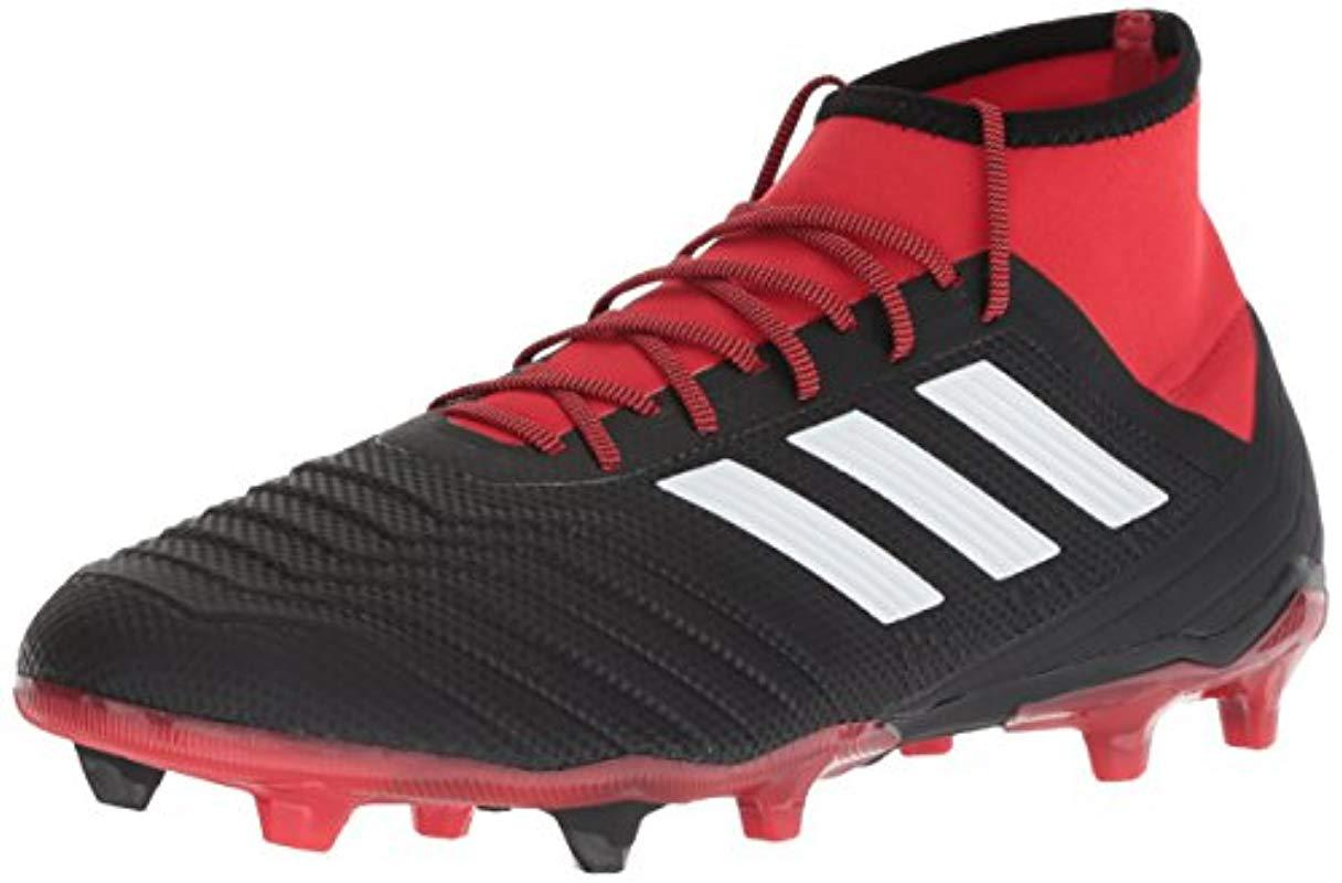 759e5a7818c958 Lyst - Adidas Predator 18.2 Firm Ground Soccer Shoe in Red for Men