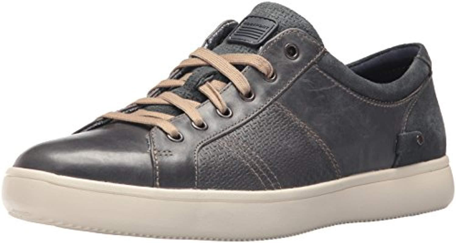 6512719fa31098 Rockport - Gray Cl Collie Tie Sneakers for Men - Lyst. View fullscreen