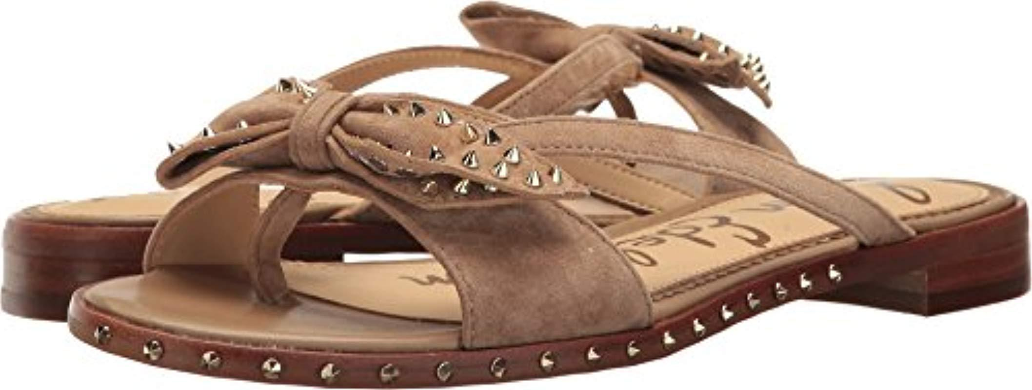 50de359dea3e Lyst - Sam Edelman Dariel Sandal in Natural - Save 9%