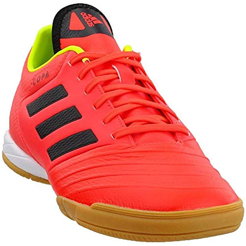 8f3be0a48536 adidas Copa Tango 18.3 Indoor Soccer Shoe in Red for Men - Save 14 ...