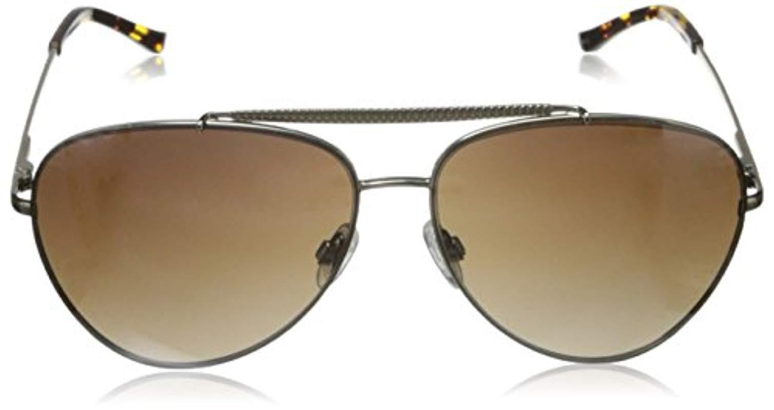 Lyst Elie Tahari Aviator Sunglasses Save 60 60606060606061