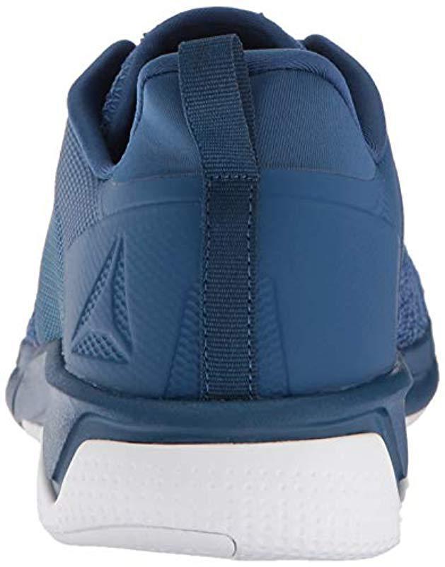 098622bc077d8a Lyst - Reebok Print Run 3.0 Shoe in Blue for Men