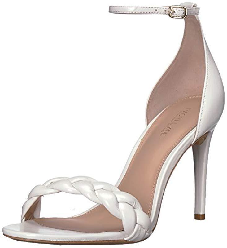 791018bb700 Lyst - Rachel Zoe Ashton Sandal Braid Heeled in White